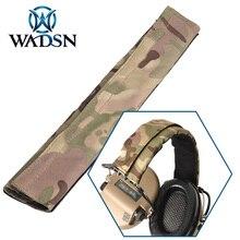 WADSN Tactical Headset Camo Stirnband (CP) Für Comtac Airsoft Kopfhörer Multicam Jagd Headsets Kopf Band Kopfhörer Zubehör