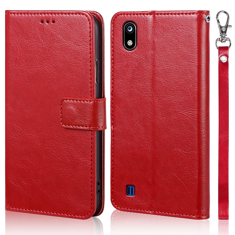 Luxury Flip Leather Phone Coque Case For ZTE Blade A7 2019 Wallet Capa Original Book Design Stand Co