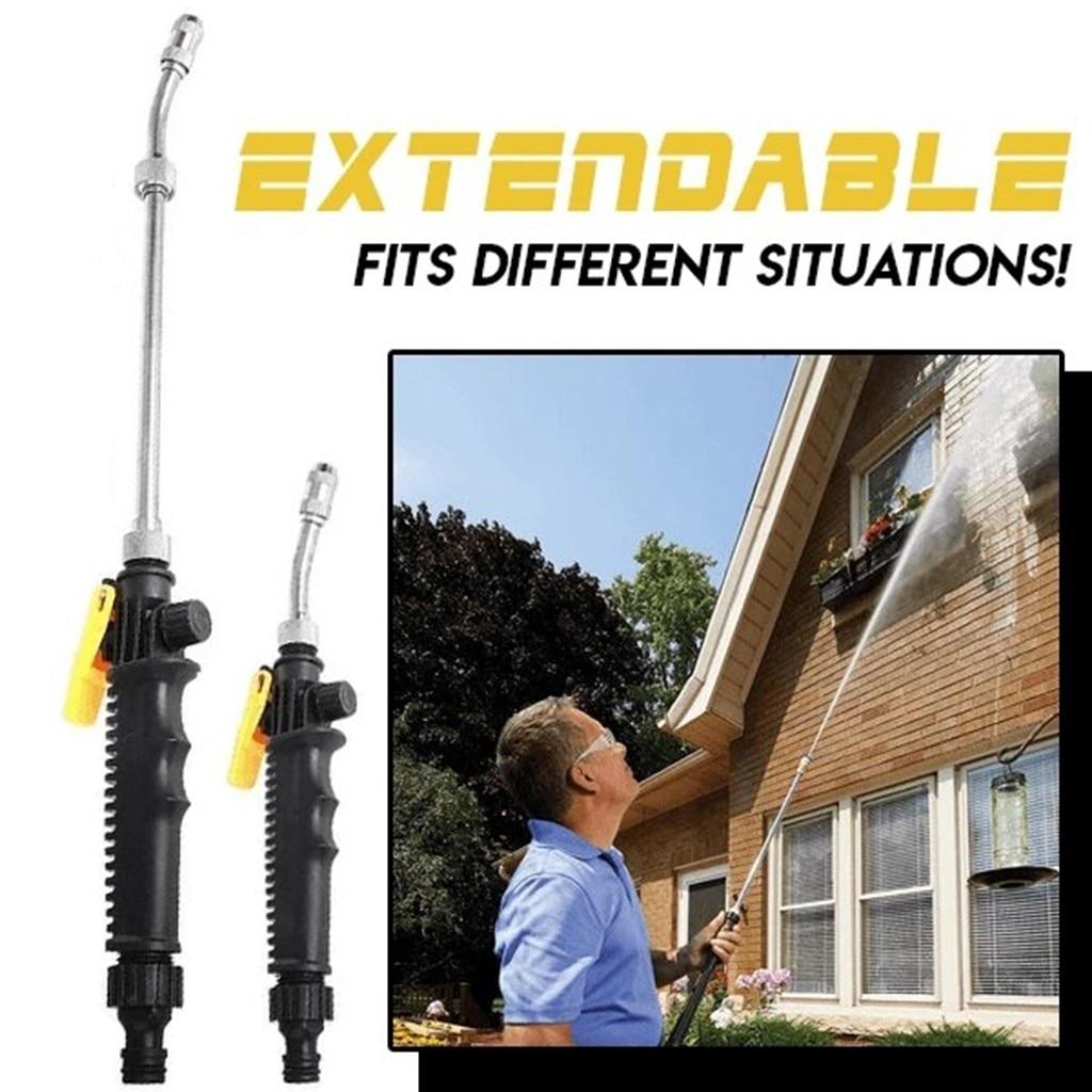 58/72cm Water Gun High Pressure Power Washer Spray Car Washing Tools Garden Water Jet Washer Watering Flowers Vegetables Z2
