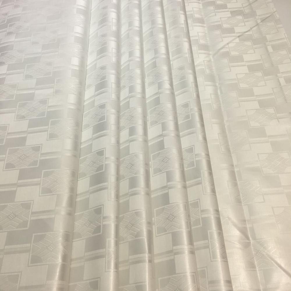Tela de 5 yardas * 160cm dentelle blanche atiku para hombres, tela de bazin brode 2020 lavabo riche jacquard brocado tela de bazin riche