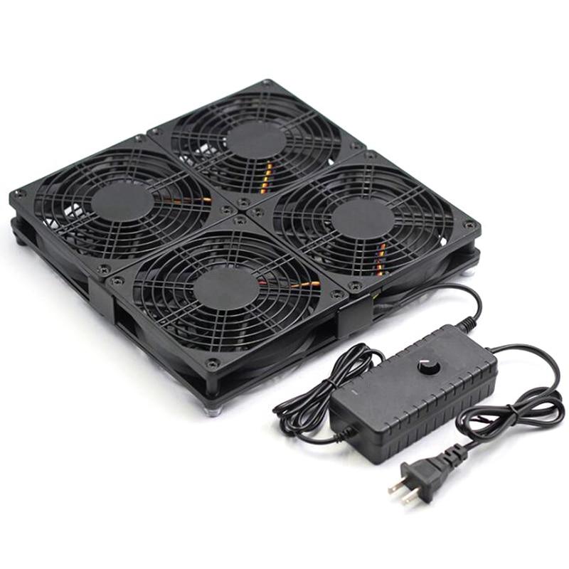 Caja de TV redonda, ventilador de refrigeración con Control de velocidad, gran...