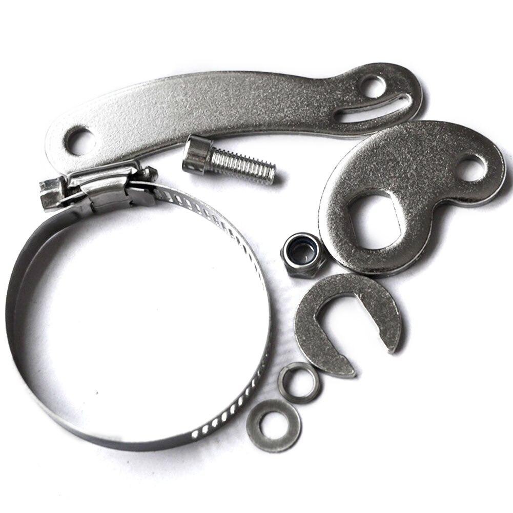 14 мм Черный электровелосипед передний задний Алюминиевый DIY аксессуар для велоспорта Torque Arm набор дропшиппинг усилитель Простая установка Multiuse