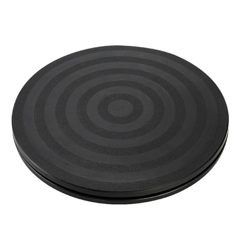 """8 """"Круглый поворотный стол для бонсая вращающаяся пластина колесо вращающийся домашний кухонный дисплей U4LB"""