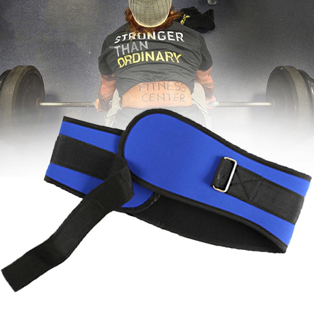 Unisex deportes ejercicio peso elevación presión ajustable culturismo suministros cintura apoyo Fitness cinturón Deep Squat Gym Band