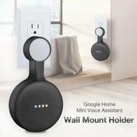 Support mural pour Mini Assistant vocal Google Home  support mural Compatible avec Assistant vocal  prise US