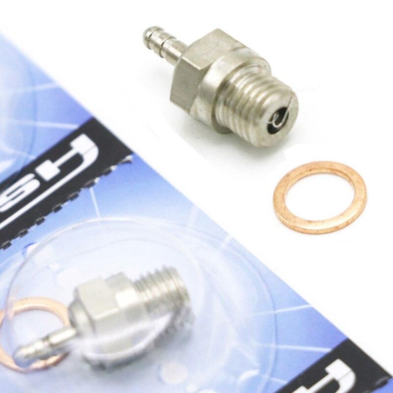 1 шт. N3 N4 Свеча накаливания #3 #4 Spark VX SH Nitro детали двигателя Замена ОС RC HSP 70117 для RC Nitro автомобиль багги Redcat Himoto