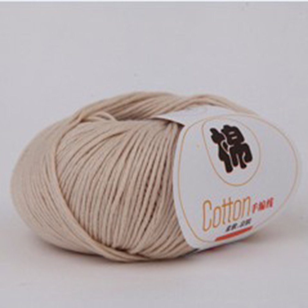 Baby Combed Milk Cotton Yarn Wool Blended Yarn Apparel Sewing Yarn for Baby
