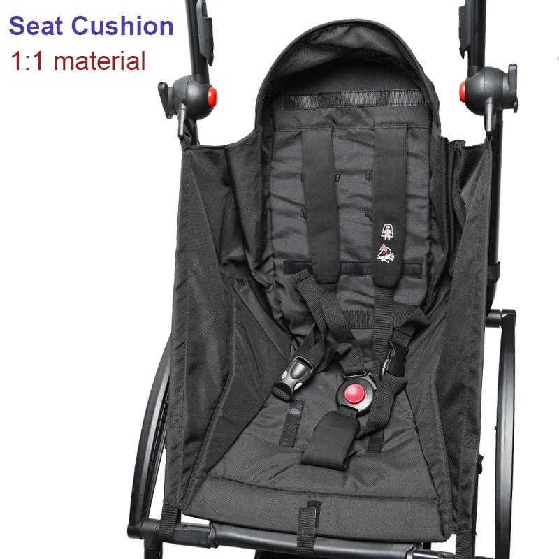 مقعد سيارة Babyzen Yoyo 175 ° ، وسادة ، قماش أصلي ، ملحقات عربة الأطفال ، Babytime Yoya Vovo