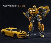 전설적인 변환 LT-01 LT01 LTS-03C 옐로우 비 MPM03 MPM-03 합금 영화 Upgade KO 액션 피겨 완구