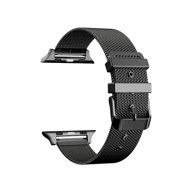 Ремешок из нержавеющей стали для Apple Watch Band 38 мм 42 мм, браслет для iWatch SE 6/5/4/3/2/1 40 мм 44 мм, браслет для наручных часов | Наручные часы | АлиЭкспресс