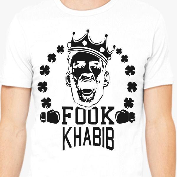 Camiseta de moda 2019, 100% de algodón conor mcgregor fook khabb Conga, camiseta de tambor