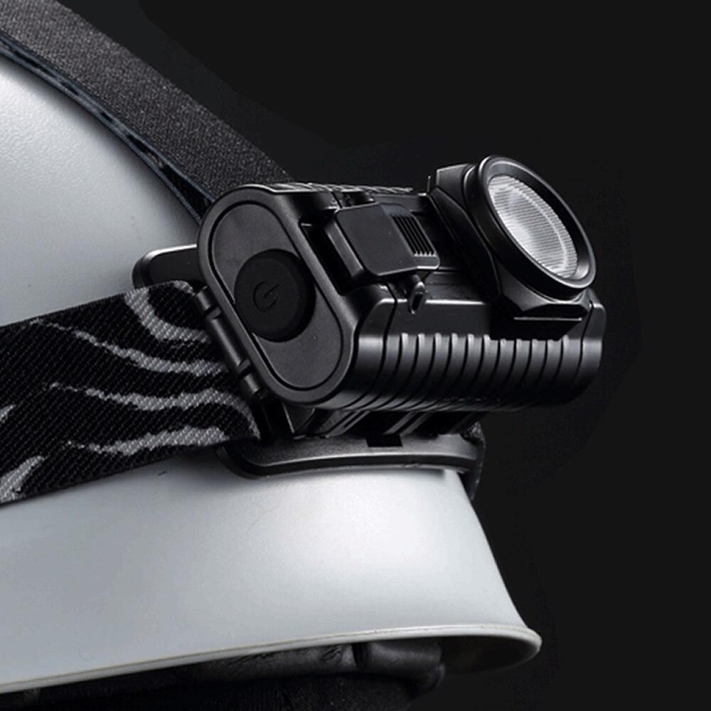 2020 NITECORE HA23 250 Lumens CREE XP-G2 S3 LED Headlamp Waterproof 2x AA Portable Lightweight Design Durable PC Materials Light