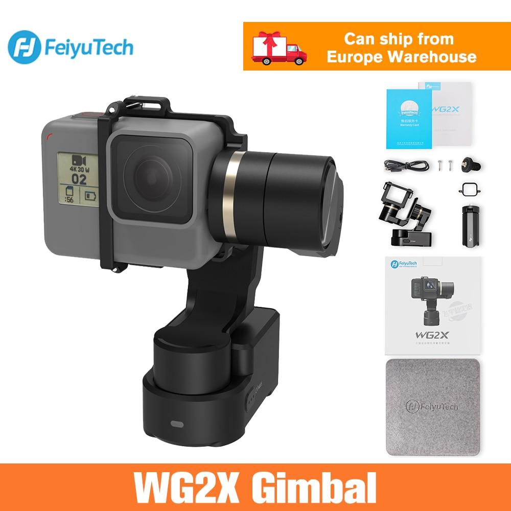 FeiyuTech Feiyu WG2X 3-Axis Wearable Gimbal Stabilizer for GoPro Hero 7 6 5 4 Sony RX0 Yi 4K SJCAM AEE Action Camera