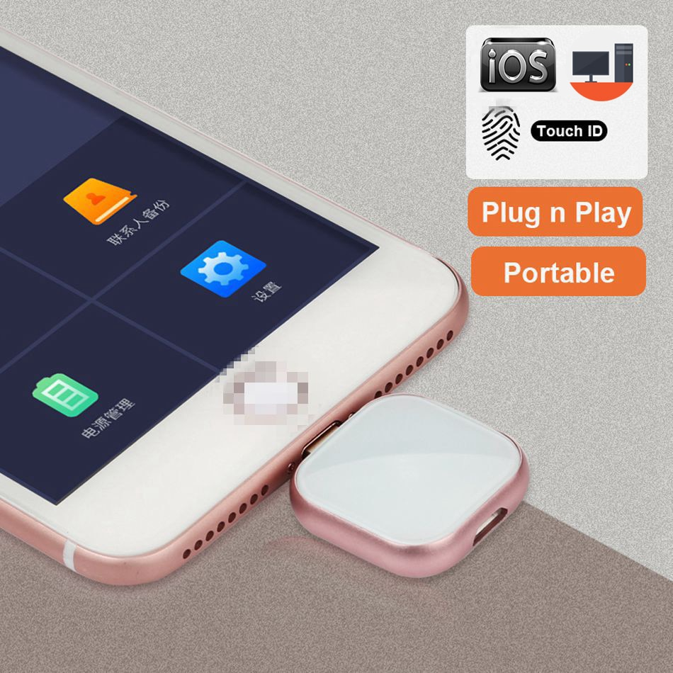 Supersonic Metal OTG Usb Flash Drive 32GB 128GB 256GB Pendrive External storage For iphone X 8 7 Plu