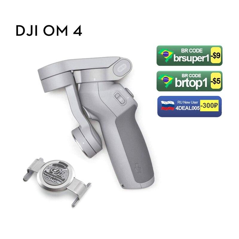 DJI OSMO موبايل 5/oomo 4 Selfie عصا بلوتوث استقرار حامل ثلاثي للهاتف Gimbal كاميرات سريعة لفة ذكي وضع اطلاق النار