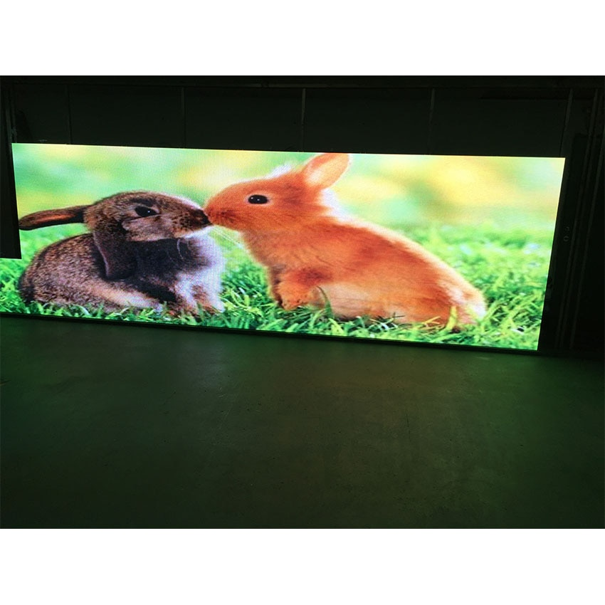 Pantalla LED de 640x640mm 16S 3 en 1 P5 RGB 320x160mm panel publicitario de matriz a todo color SMD2121 pantalla interior P4 P10