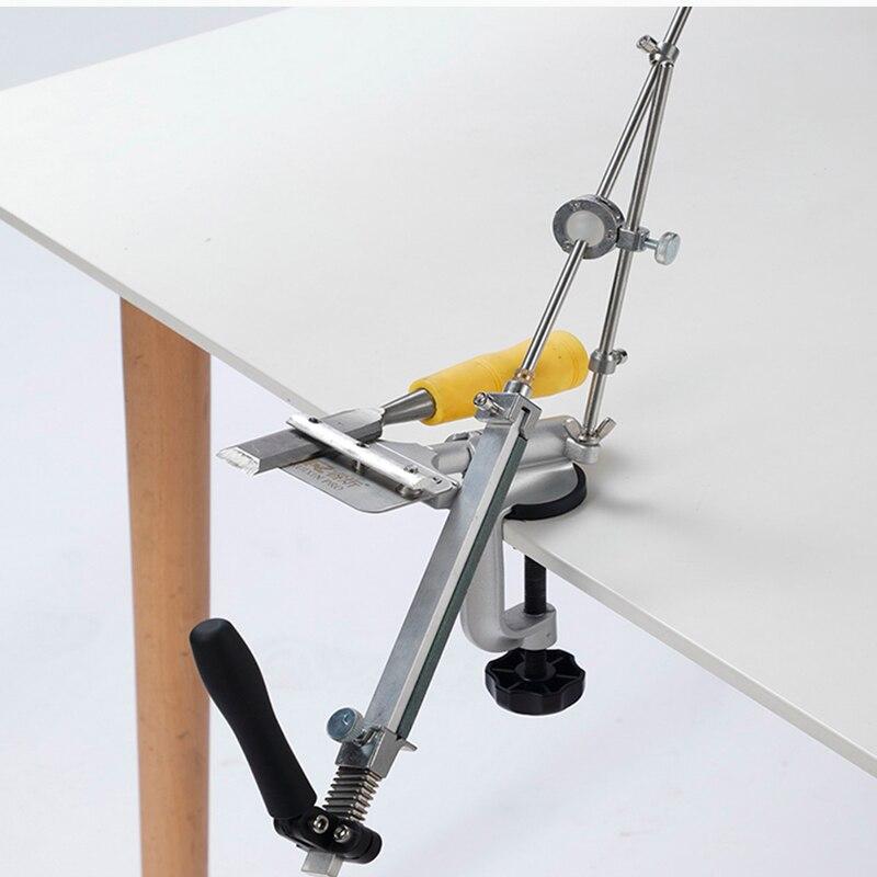 Ruixin pro-third version Mini Grinding machine work sharp knife sharpener sharpening system Fixed angle