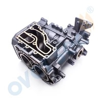 6b4 15100 crankcase assy for yamaha outboard motor 2t 9 9hp 15hp new model 15d 9 9d enduro series 6b4 15100 00 1s