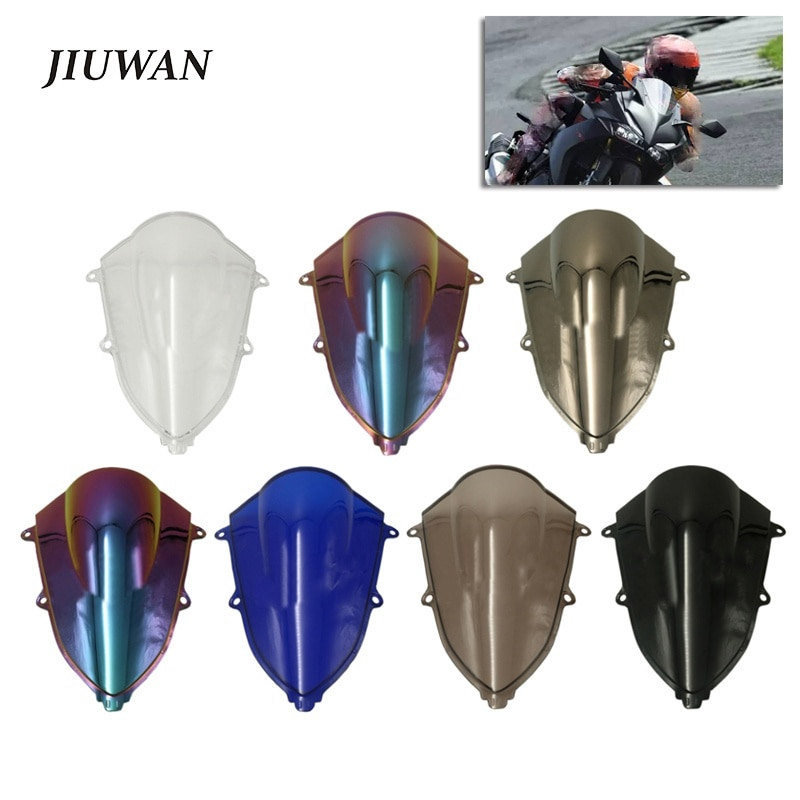 1pc motorcycle accessories 1pc Motorcycle Windscreen Wind Deflectors Decoration Accessories for Honda CBR250RR 2017-2018 Windshield Spoiler Fairing