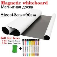 soft magnetic whiteboard kitchen menu fridge stickers message board home office school dry erase calendar