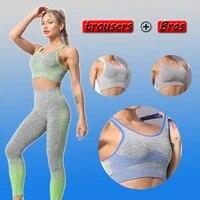 seamless yoga set sports bras yoga pants 2 piece set women workout clothes for women workout set gym set fitness gym clothing