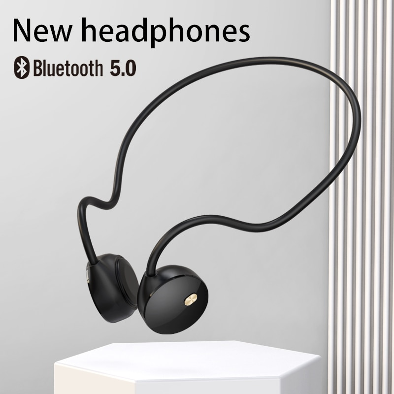 Ddj R18 صحيح سماعة أذن تلتف حول الرأس سماعة لاسلكية تعمل بالبلوتوث سماعات الرياضة مقاوم للماء سماعة إلغاء الضوضاء مع ميكروفون