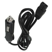 Mini Fridge 2 Pin Lead Cable Plug Wire 1PC 200cm DC 12V Replacement Car Cooler Cool Box Bumper Cigar