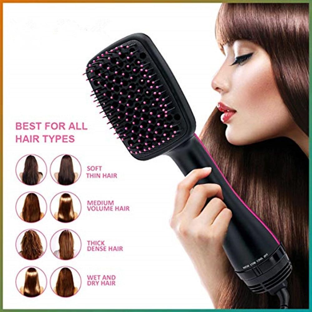 Hair Dryer Brush One Step Hair Blower Brush Electric Hot Air Brush Travel Blow Dryer Comb Professional Hairdryer Hairbrush enlarge