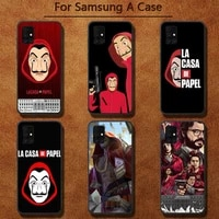 spain tv paper house customer phone case for samsung a91 01 10s 11 20 21 31 40 50 70 71 80 a2 core a10
