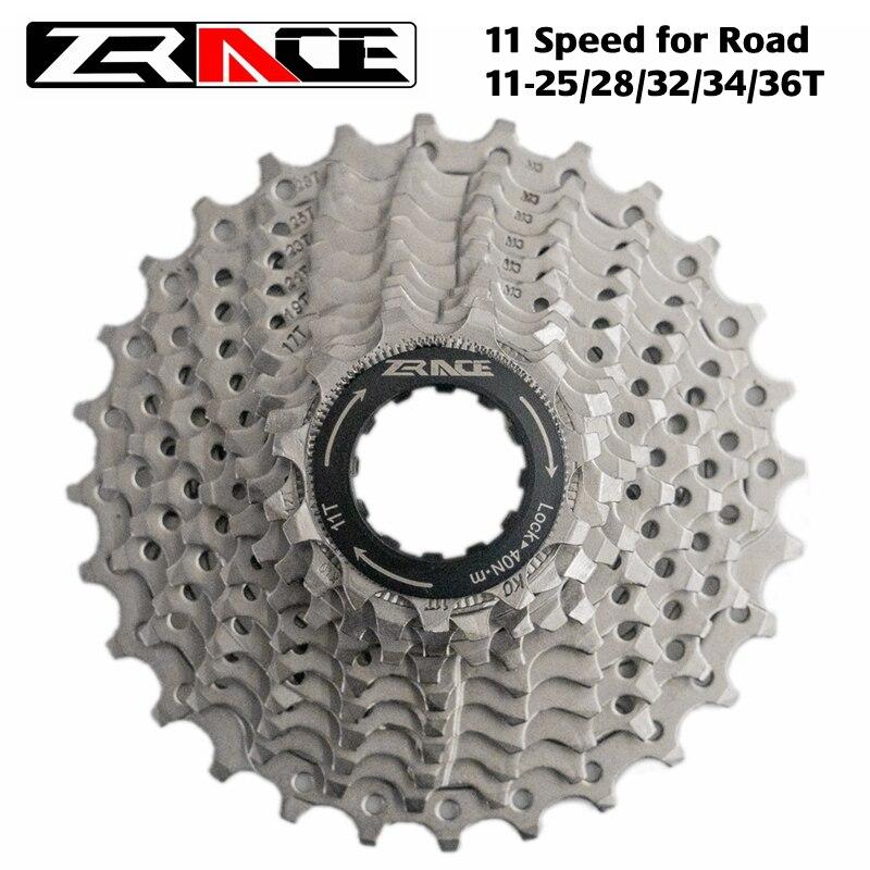 Cabine de bicicleta zrace/mtb roda livre na estrada 11 velocidade mtb 11-25 t/28 t/32 t/34 t/36 t compatível com ultegra 105