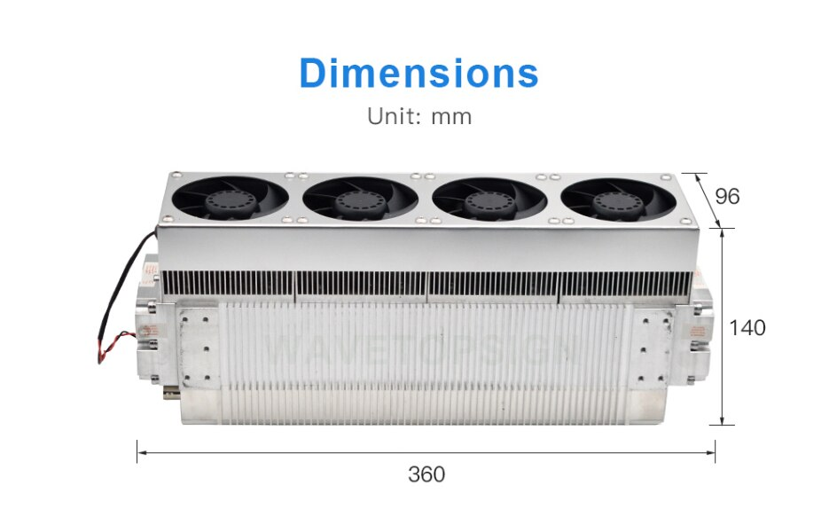 دافي CO2 الترددات اللاسلكية الليزر وحدة D20 30 واط الطول الموجي 9.3/10.6um مصدر الليزر لأنبوب ليزر Co2 المعادن