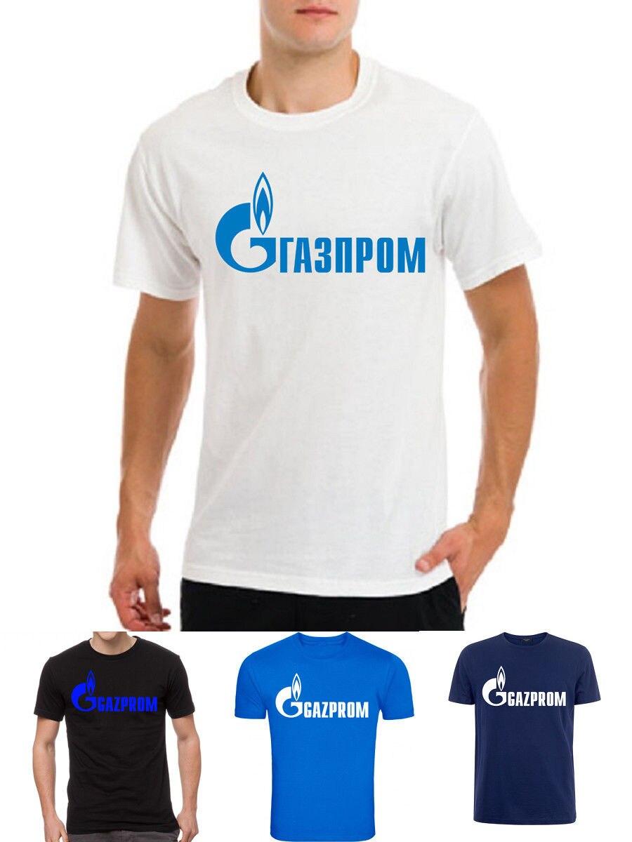 Gazprom Logo Vladimir poutine russie russe hommes T-Shirt blanc nouveaux t-shirts drôle hauts T-Shirt nouveau unisexe drôle hauts