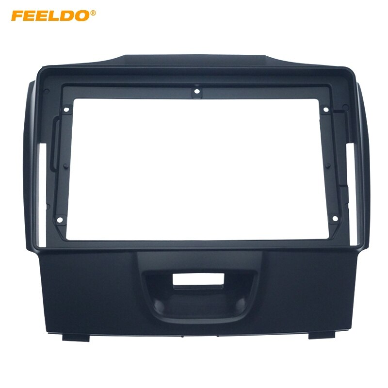 FEELDO voiture 2Din panneau Fascia adaptateur de cadre pour Isuzu d-max MU-X 2015-2017 stéréo 9