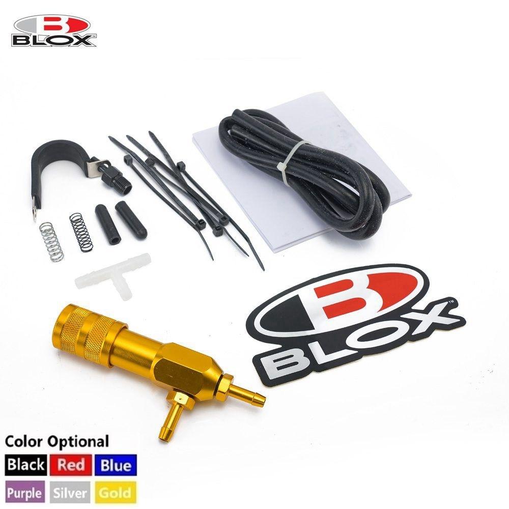 Blox mbc ajuste manual impulso controlador universal preto polido peças de corrida com logotipo HU-BXBC008