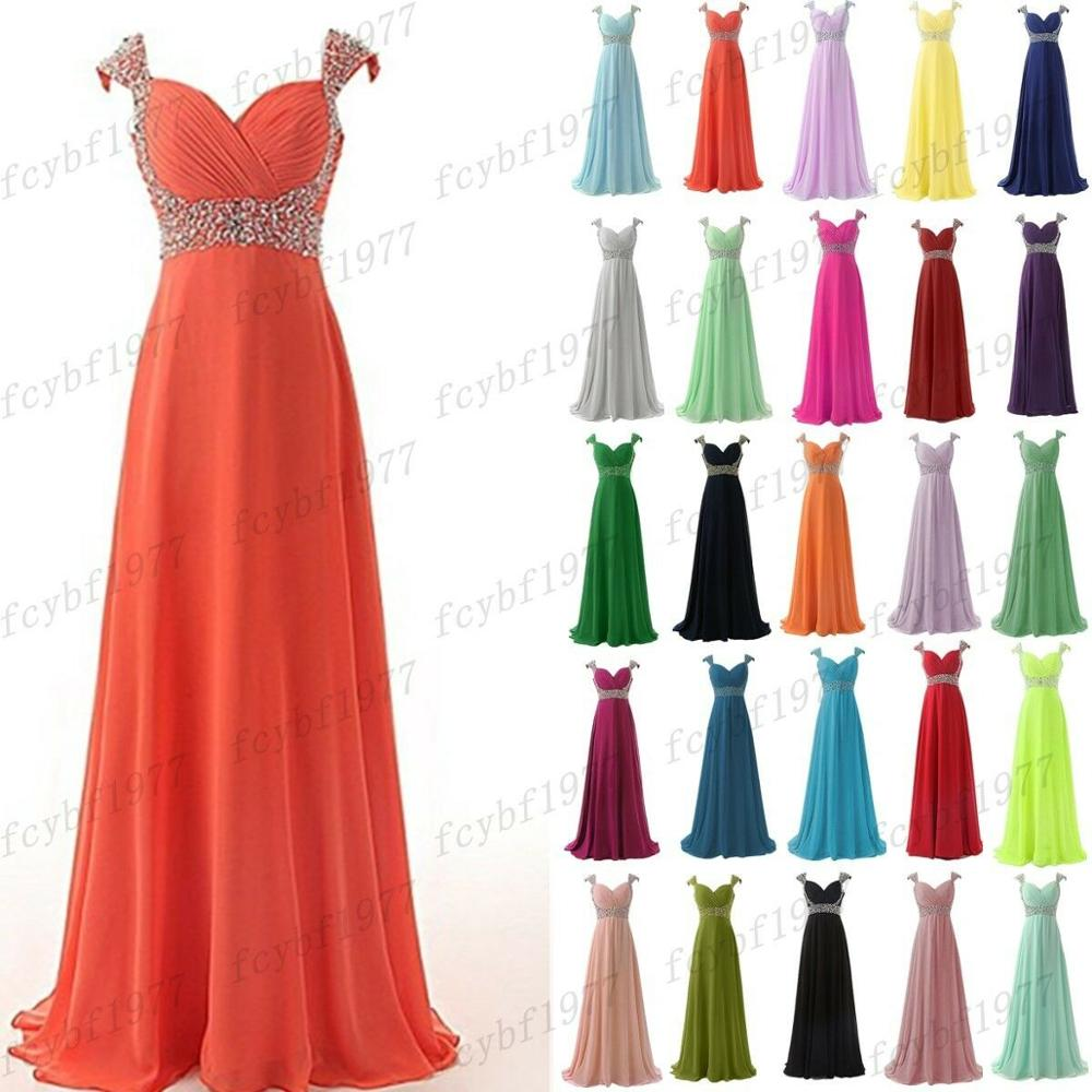 Шифоновые платья а-силуэта с вышивкой сердечком и кристаллами, элегантные платья подружки невесты с рукавом-крылышком, свадебные вечерние ...