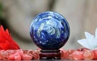natural lapis lazuli sphere quartz crystal ball rock healing