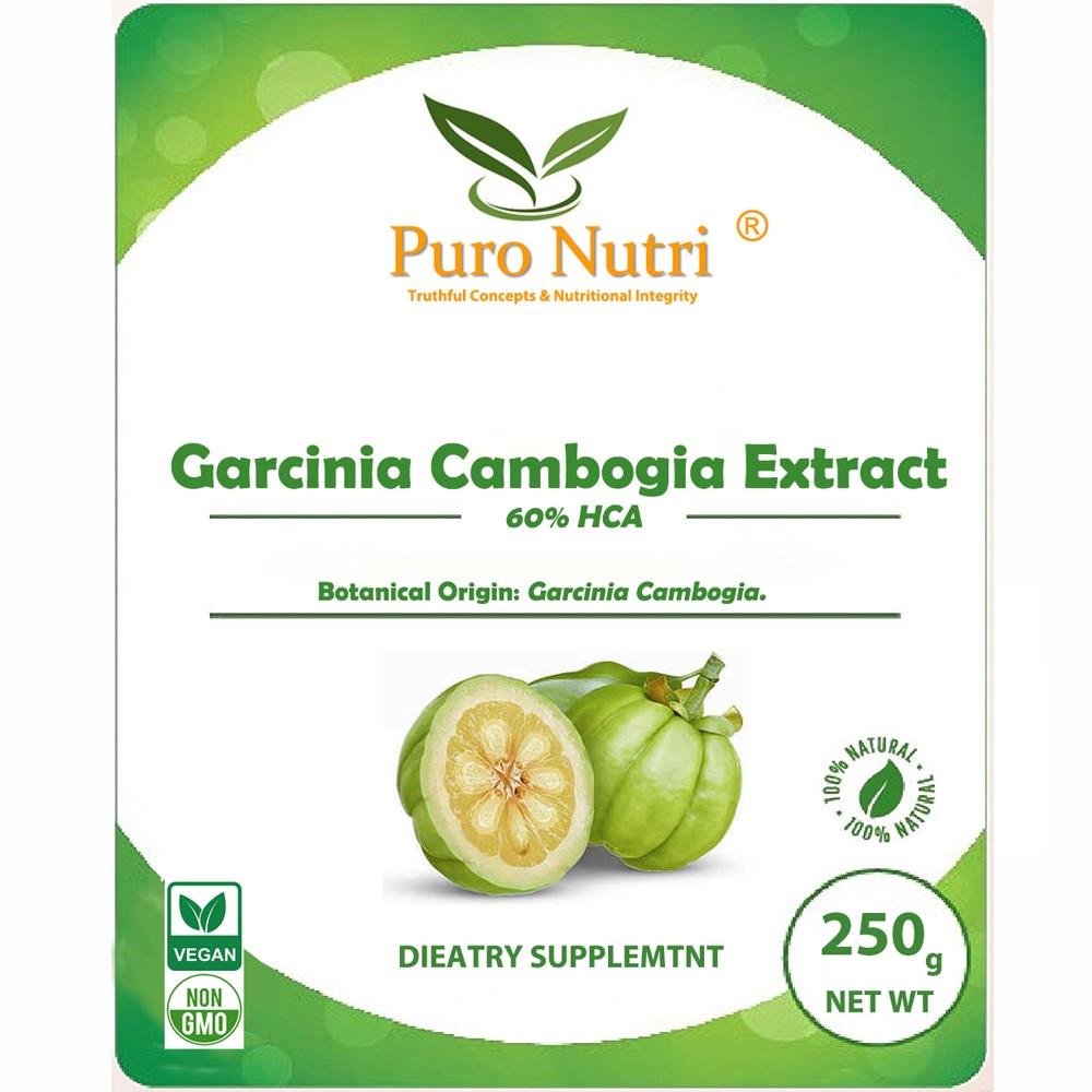 Polvo de extracto Natural de Garcinia Cambogia de alta calidad 60% HCA adelgazante quemar grasa