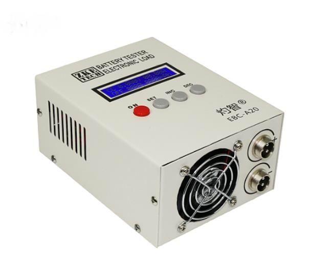 EBC-A20 الإلكترونية تحميل قدرة البطارية اختبار الليثيوم الحديد والليثيوم الثلاثي تهمة والتفريغ أداة 20A