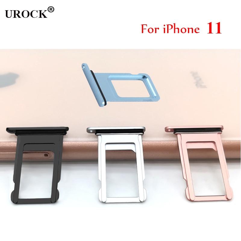 Para iPhone 11, bandeja de tarjeta Sim, soporte Micro SD, ranura para tarjeta Sim, bandeja con Pin de expulsión libre, puede imprimir IMEI