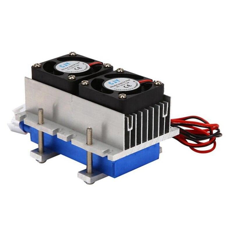 Термоэлектрический полупроводниковый кондиционер Пельтье, 144 Вт, 12 В, система охлаждения, комплект для самостоятельной сборки, охлаждение