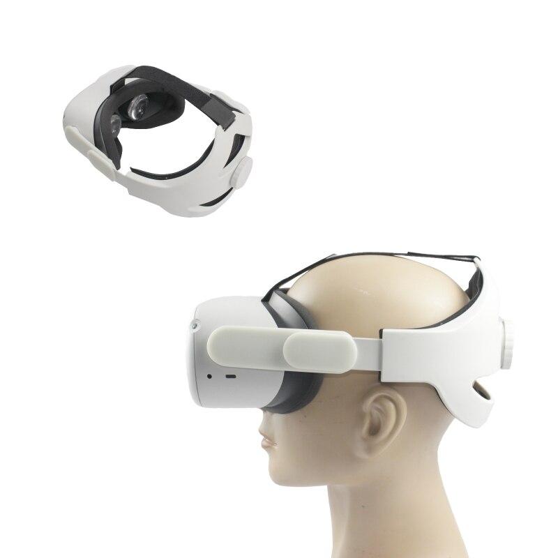 Cinta de Fixação Fone de Ouvido Antiderrapante Bandana Esponja Esteiras Ajustável Cabeça Cinta vr Capacete Cinto Para-oculus Quest 2 Acessórios J0pb