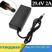 YYHQQBAD 29.4V 2A Charger for 24V 25.2V 25.9V 29.4V 7S lithium battery 29.4V recharger e-bike Charge
