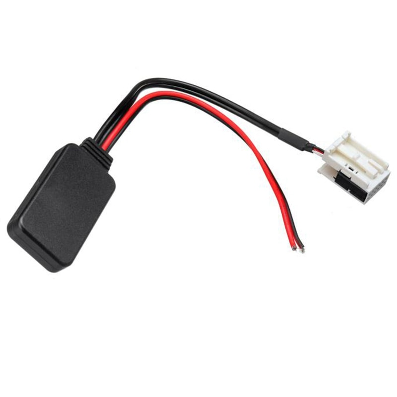 for Peugeot 207 307 407 308 for Citroen C2 C3 RD4 Car 12Pin Bluetooth Module Wireless Radio Stereo AUX-IN Aux Cable Adapter