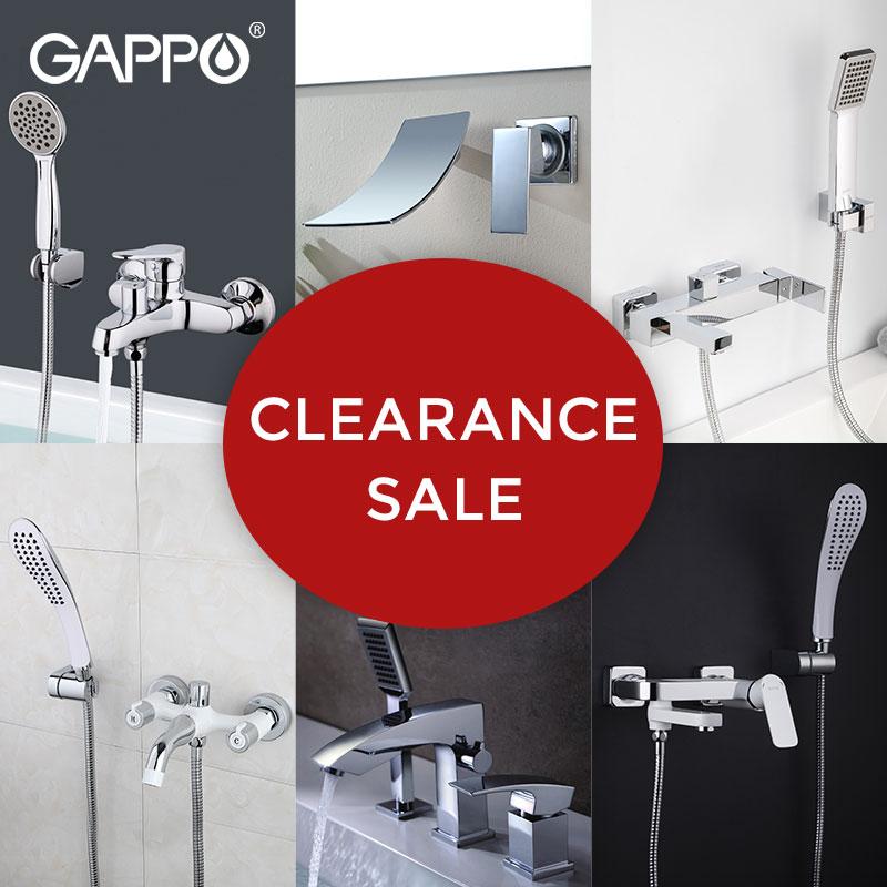GAPPO-صنبور دش مطري ، مجموعة صنبور نحاسي مع نظام تصفية ، للحمام
