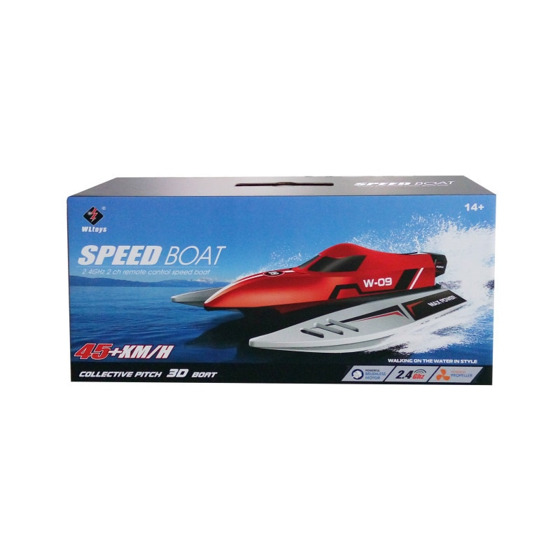 WLtoys WL915 RC Boat 2.4Ghz 2CH Brushless High Speed Racing Speedboat 45KM/H Radio controlled F1 ship Toys for boys Children enlarge