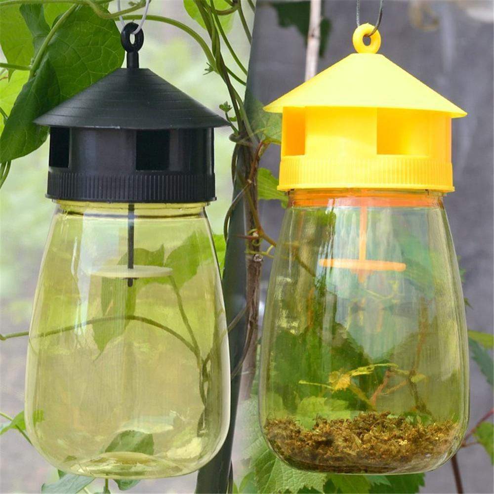 AliExpress - 1 PCS Wasp Trap Fruit Fly Flies Insect Bug Hanging Honey-Trap Catcher Killer No-Poison Hanging Tree Pest Control Tool
