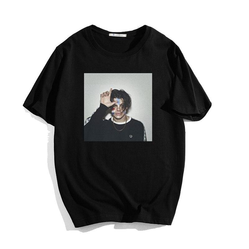 Camiseta Yungblud estampada de manga corta para hombres y mujeres, camiseta de manga corta unisex, camiseta de moda Harajuku modal para hombres