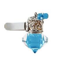 Décoration intérieure Auto accessoires voiture désodorisant parfum parfum bouteille suspendus huile essentielle enlever odeur cristal évent sortie