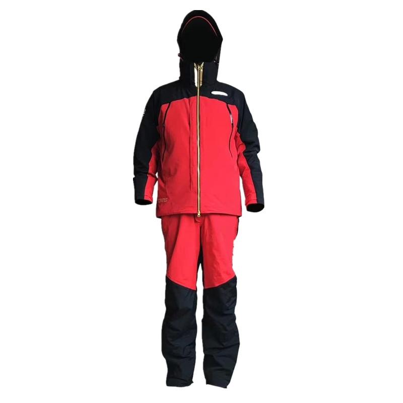 2020 New Shimanos Men Fishing Clothing Sets Outdoor Sports Winter Waterproof Fishing  Jacket And Pants Warm Fishing Suits enlarge