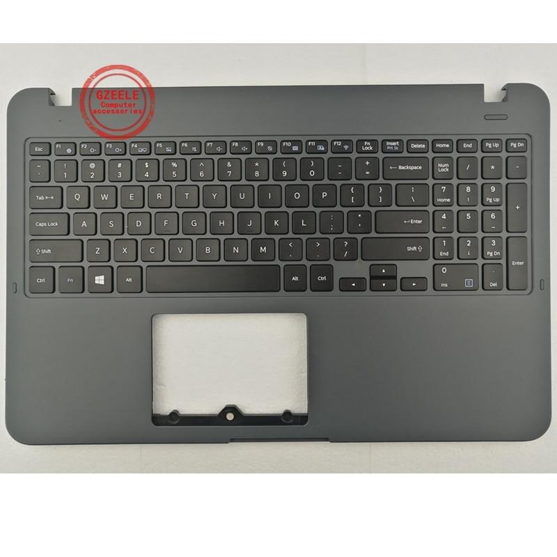 GZEELE-لوحة مفاتيح مع غلاف C ، لهاتف Samsung NP350XAA 35X0AA 351XAA 350XAA 500r5h